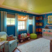 儿童房置物架设计