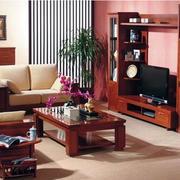 中式一套式家具效果图