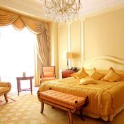 欧式卧室唯美飘窗设计