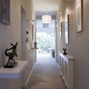 简约风格走廊灯饰设计