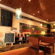 咖啡厅卡座设计