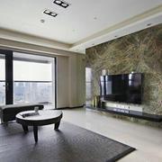 公寓大理石背景墙设计
