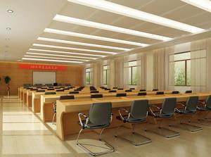 整洁大方的都市会议室设计效果图素材大全