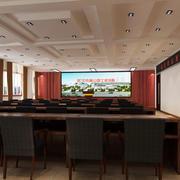 会议室投影墙设计