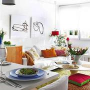 小户型餐桌装饰