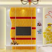 简约印花电视背景墙设计