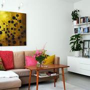 公寓沙发搭配装饰图
