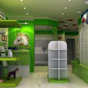 现代简约宠物店货柜设计