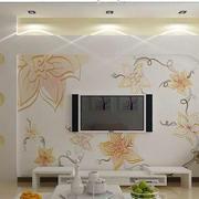 中式优雅背景墙装修
