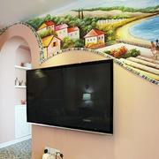 客厅电视墙面设计
