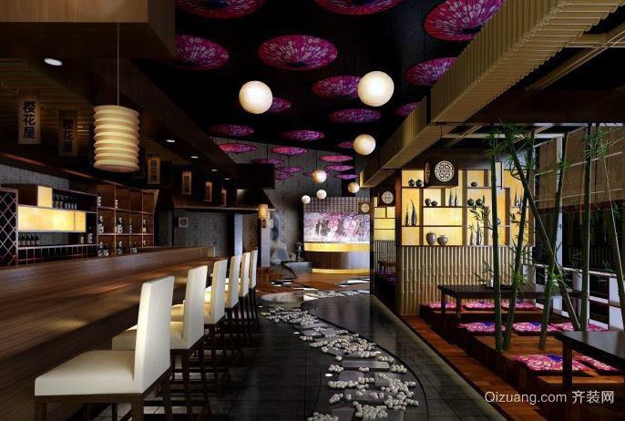 都市人的夜生活:激情四射的酒吧装修效果图