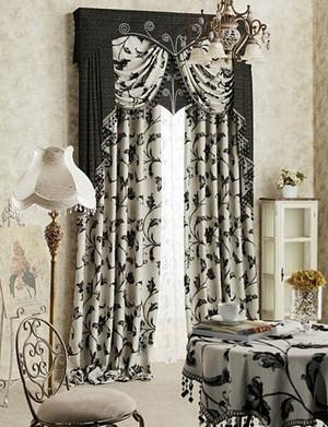 欧式奢华窗帘设计