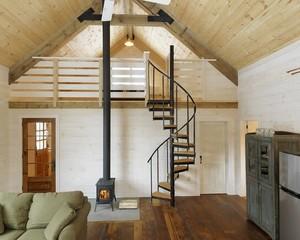 大户型的斜顶阁楼装修效果图大全