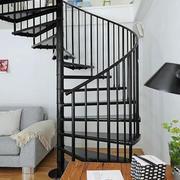 铁制旋转楼梯设计