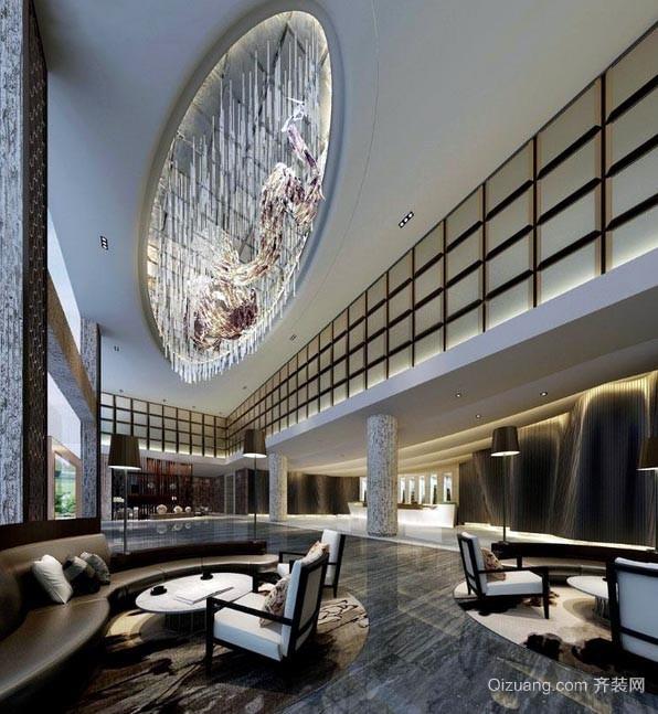 外出的人会住的高级商务酒店装修设计效果图
