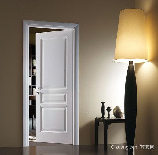 环保实用型实木套装门效果图