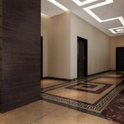 走廊地面装饰设计