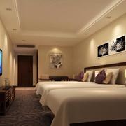 酒店卧室吊顶设计
