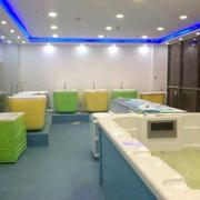 现代简约风格游泳馆设计