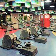 健身房墙饰设计