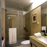 公寓卫生间隔断设计