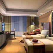 酒店卧室飘窗装修