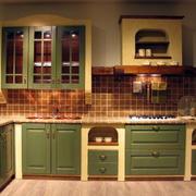 欧式整体厨柜