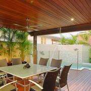 阳台休息桌设计