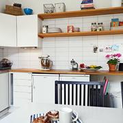 公寓L型厨房设计