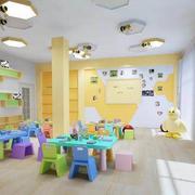 幼儿园桌椅设计