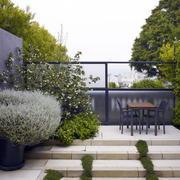 别墅后花园绿化