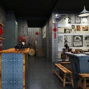 复古风格火锅店设计
