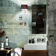 洗手间背景墙设计