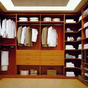 红木整体衣柜设计