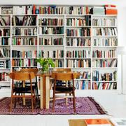 公寓大型书架设计