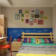 儿童房照片墙装修