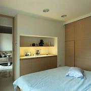 卧室整体型置物柜设计