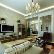 客厅原生态地板设计