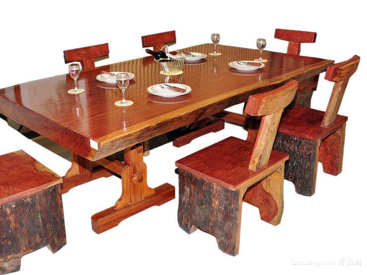 5现代 时尚 餐厅红木 餐桌 装修效果 图素材 大