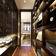 三室一厅博古架设计