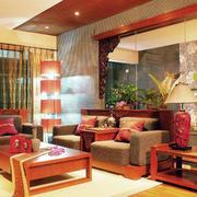 东南亚风格客厅装饰