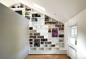 阁楼书架设计
