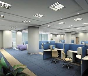 现代简约大气的办公写字楼装修设计效果图