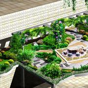 山庄公寓屋顶绿化设计