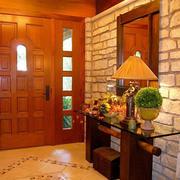 东南亚风格套装门设计