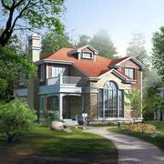别墅周围绿化环境装修