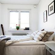 公寓卧室床头背景墙设计