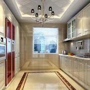 一字型厨房设计