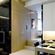 别墅客厅隐形门设计