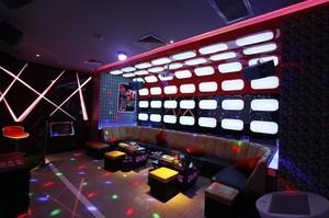 适合朋友聚会的KTV包房装修设计效果图